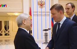 Tổng Bí thư Nguyễn Phú Trọng hội kiến Phó Chủ tịch Hội đồng Liên bang Nga