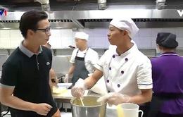 Nhà bếp - Nơi đầu tiên thức giấc của một ngôi trường