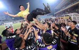 ẢNH: Đánh bại SLNA, CLB Hà Nội vô địch V.League sớm 5 vòng đấu
