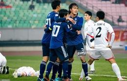 VCK U23 châu Á 2018, ngày 19/01: U23 Nhật Bản - U23 Uzbekistan, U23 Qatar - U23 Palestine