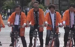 Bùng nổ mô hình chia sẻ xe đạp trên thế giới