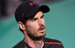 Không kịp hồi phục, Murray lỡ hẹn với giải tiền Australian Open 2018