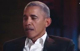 Ông Barack Obama mô tả những động tác vụng về của mình khi phải nhảy với ca sỹ Prince