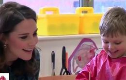 Công nương Kate lên tiếng về trẻ em sử dụng mạng xã hội