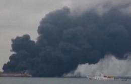 32 người mất tích do va chạm tàu chở dầu Iran