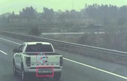 """Camera """"tố"""" 1.000 tài xế vi phạm trên cao tốc dài nhất Việt Nam"""