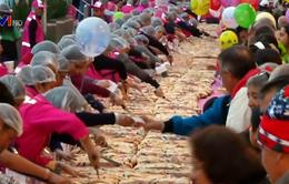 Hàng ngàn người dân Mexico ăn mừng Lễ ba Vua