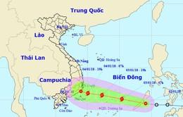Áp thấp nhiệt đới đi vào biển Đông và có thể mạnh lên thành bão số 1