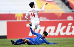 Kết quả, BXH VCK U23 châu Á ngày 16/1: U23 Nhật Bản 3-1 U23 CHDCND Triều Tiên, U23 Thái Lan 1-5 U23 Palestine