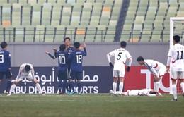Thất bại trước U23 Nhật Bản, U23 CHDCND Triều Tiên dừng bước tại VCK U23 châu Á 2018
