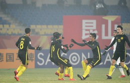 Tứ kết U23 châu Á, U23 Hàn Quốc -  U23 Malaysia: 15h00 ngày 20/1 trên VTV6