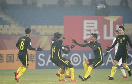 Kết quả, BXH VCK U23 châu Á bảng C ngày 16/1: U23 Ả-rập-xê-út 0-1 U23 Malaysia, U23 Iraq 1-0 U23 Jordan