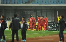 TRỰC TIẾP Người hâm mộ Việt Nam ăn mừng kỳ tích của các cầu thủ U23 Việt Nam