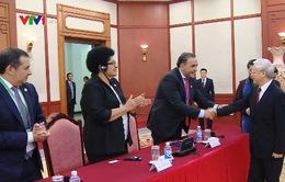 Tổng Bí thư tiếp các trưởng đoàn tham dự APPF-26