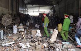 Vụ nổ ở Bắc Ninh: Nguyên nhân ban đầu có thể do đạn phốt pho còn sót kích nổ