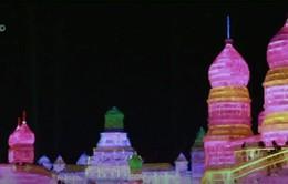 Sôi động lễ hội điêu khắc băng Cáp Nhĩ Tân