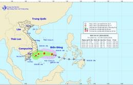 Bão số 1 khả năng sẽ suy yếu khi tiến đến vùng biển Nam Trung Bộ