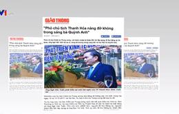 Báo chí với công tác phòng, chống tham nhũng