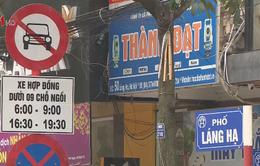 Những tuyến phố nào Uber, Grab bị cấm lưu thông vào giờ cao điểm?