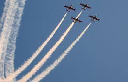 Màn trình diễn máy bay ấn tượng tại Saudi Arabia