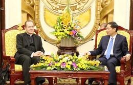 Bộ Ngoại giao làm việc với Đoàn Tòa thánh Vatican