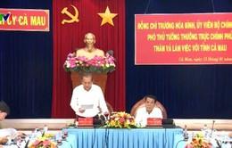 PTT Trương Hòa Bình: Cà Mau cần đẩy mạnh tái cơ cấu nông nghiệp