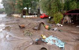 Lở bùn và lũ lụt tại California, ít nhất 13 người thiệt mạng