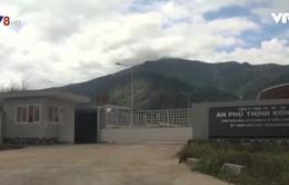 Nhà máy chế biến mủ cao su APT tại Kon Tum đã ngừng hoạt động