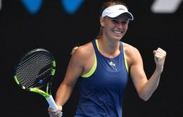 Australia mở rộng 2018: Wozniacki giành quyền vào tứ kết