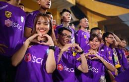 Năm 2017: Lượng fan cổ vũ V.League mỗi trận gần bằng K-League