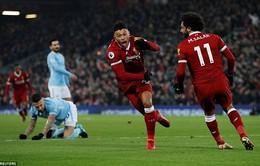 ĐHTB Ngoại hạng Anh vòng 23: Sạch bóng Man City