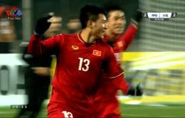 VIDEO: Đức Chinh dứt điểm tung lưới U23 Iraq, bàn thắng vỡ oà với  U23 Việt Nam