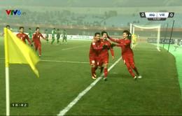 TRỰC TIẾP BÓNG ĐÁ U23 Iraq 1-1 U23 Việt Nam: Aymen Hussein gỡ hoà trên chấm phạt đền