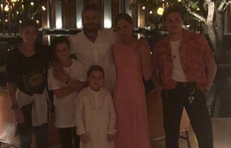 Gia đình nhà Beckham tưng bừng đón năm mới