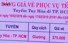 Phú Yên tăng cường kiểm tra bán vé xe Tết