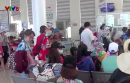 Quảng Ngãi: Biển động, huyện đảo Lý Sơn bị cô lập