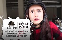 """MC thời tiết Xuân Anh: """"Dành cả tuổi thanh xuân để đo mưa nắng"""""""