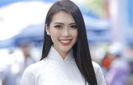 Tường Linh tự tin giới thiệu bằng tiếng Anh về Việt Nam tại cuộc thi Hoa hậu Liên lục địa 2017