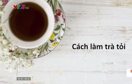 Hướng dẫn cách làm trà tỏi đánh bay cảm cúm