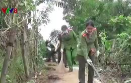 Quảng Ngãi: Tập trung làm sạch môi trường nơi bùng phát hội chứng dày sừng