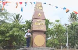Đoàn công tác vùng 4 Hải quân thăm và tặng quà đảo Nam Yết