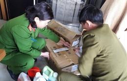 Hà Nội: Phát hiện nguyên liệu làm trà sữa không rõ nguồn gốc