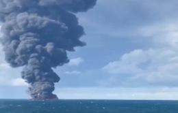 Tai nạn tàu chở dầu gây ô nhiễm trên biển Hoa Đông
