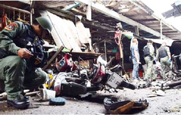 Nổ bom ở miền Nam Thái Lan, ít nhất 3 người thiệt mạng