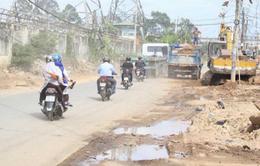 Xử phạt 22 nhà thầu đào đường ẩu tại TP.HCM