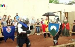 Giải đấu kiếm kiểu Trung cổ đặc biệt ở Mexico