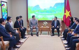 Phó Thủ tướng: Mong muốn Tập đoàn tài chính Keb Hana thúc đẩy đầu tư vào Việt Nam