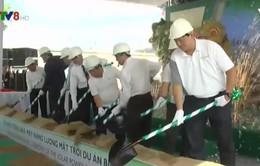 Ninh Thuận khởi công nhà máy điện mặt trời đầu tiên
