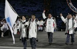 Hàn - Triều lập đội khúc côn cầu chung, cùng nhau diễu hành tại Olympic