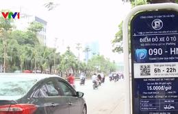 Hà Nội triển khai dịch vụ tìm điểm đỗ xe qua di động ở 9 quận